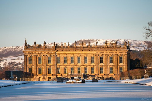 Wintery Chatsworth