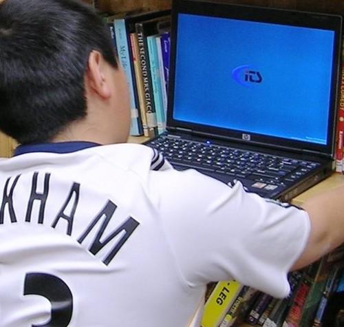 Impromptu Laptop Location