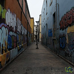 Alleyway Full of Graffiti - Valparaiso, Chile