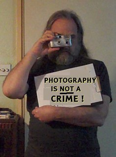 Photography is NOT a crime!