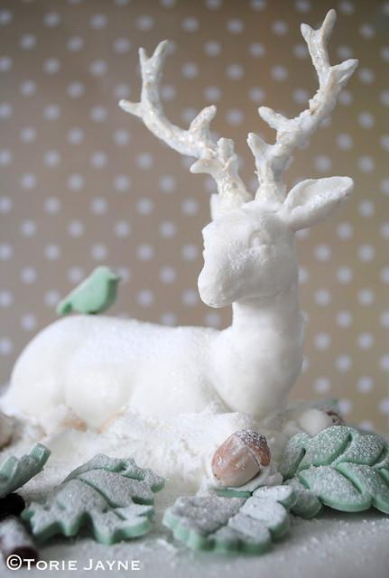 Sugarpaste reindeer