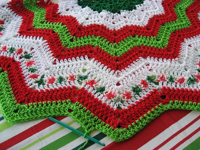 Christmas tree skirt explore janpugs photos on flickr