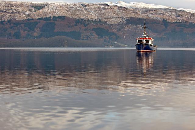 Fishing boat on loch lomond flickr photo sharing for Loch lomond fishing