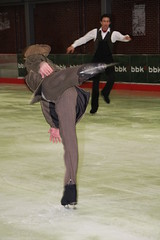 sports(0.0), outdoor recreation(0.0), skating(1.0), ice dancing(1.0), winter sport(1.0), individual sports(1.0), recreation(1.0), axel jump(1.0), ice skating(1.0), figure skating(1.0),