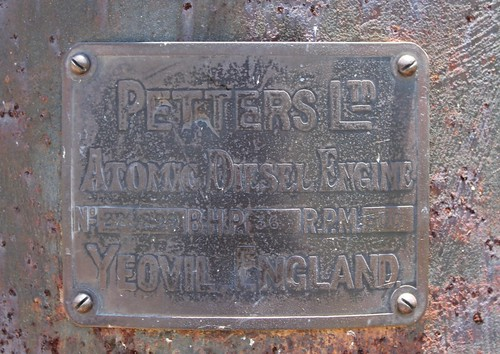 The Petters Engine Plate