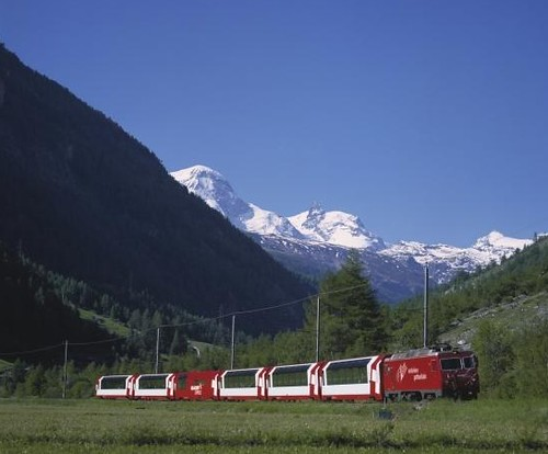Swiss Train - Glacier Express