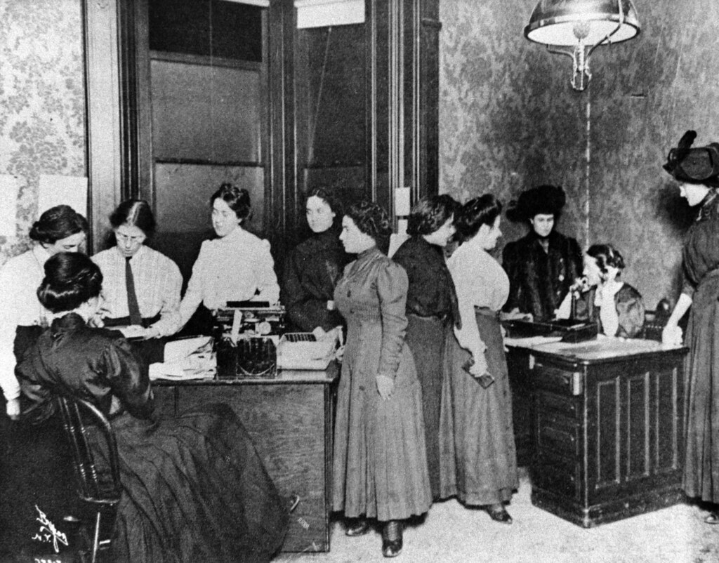 Rose Schneiderman and others at the Women's Trade Union ...