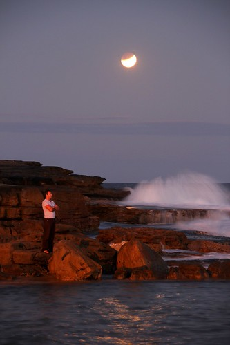 Watching moonrise | by Rory OBrien