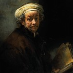 Rembrandt - Self portrait as the apostel St Paulus