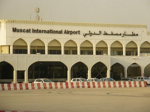 El aeropuerto de Muscat