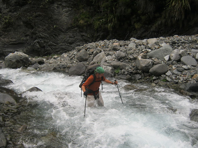 First attempt at Mountaineering, NZ