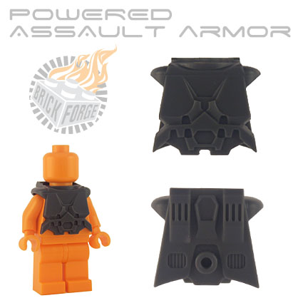Powered Assault Armor - Dark Blueish Gray
