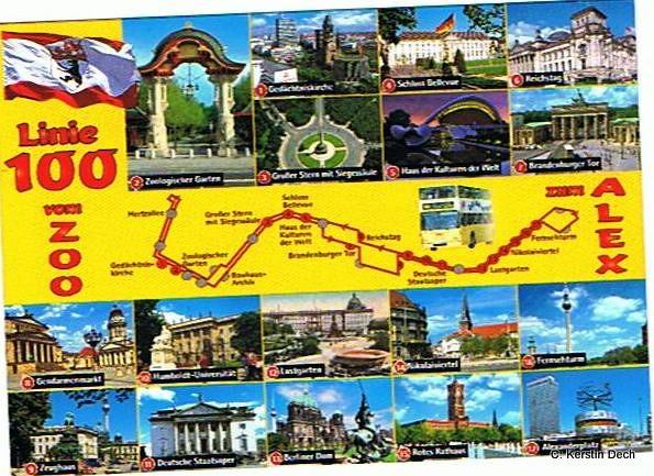 Karte Linie 100 Zoo Von Christian Linie 100 Zoo Berlin V Flickr