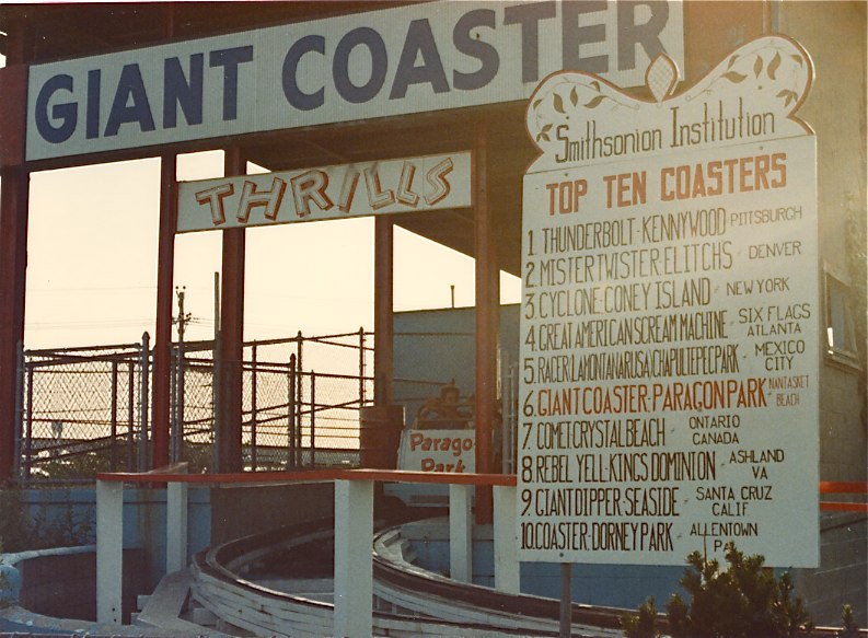 Paragon Park 1985 - The Giant Coaster