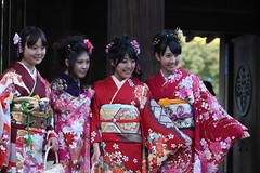 geisha(1.0), clothing(1.0), tradition(1.0), kimono(1.0), woman(1.0), female(1.0), costume(1.0), person(1.0),