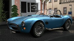 convertible(0.0), race car(1.0), automobile(1.0), vehicle(1.0), automotive design(1.0), land vehicle(1.0), ac cobra(1.0), sports car(1.0),