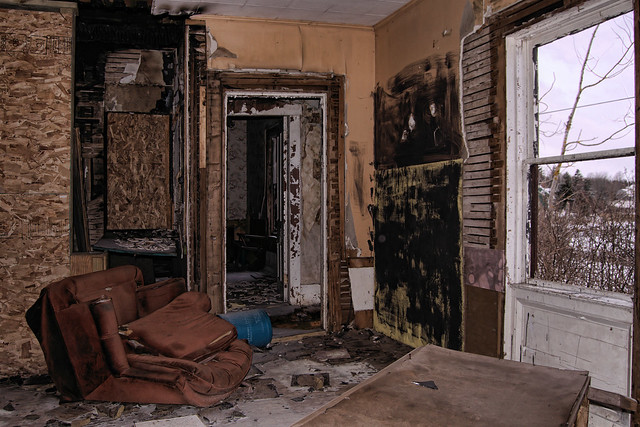 abandoned house inside | Flickr - Photo Sharing!