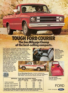 1980 Ford Courier Ad