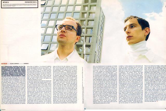 Entrevista con Astrud. Vanidad junio 1999