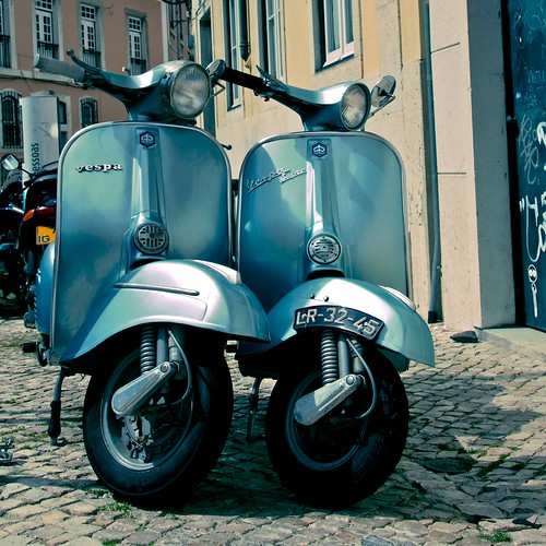 Double Vespa by scott_flikr