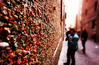 Post Alley Gum Wall