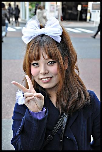 [ Beautiful smiles ] Harajuku, Tokyo, Japan