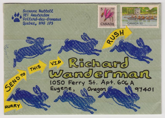 Mail Art from Suzanne Nuttall