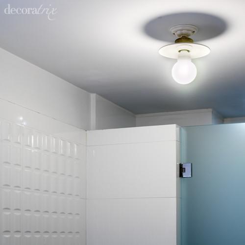 Genial lamparas ba o techo galer a de im genes lamparas - Lamparas de bano leroy merlin ...