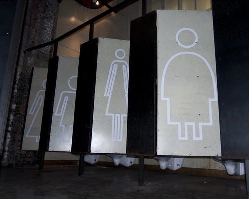 Gender-neutral restroom