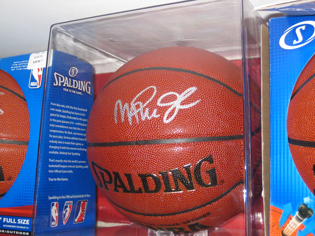 low priced a9157 89a5a Magic Johnson autographed basketball | Signed April 23, 2010 ...