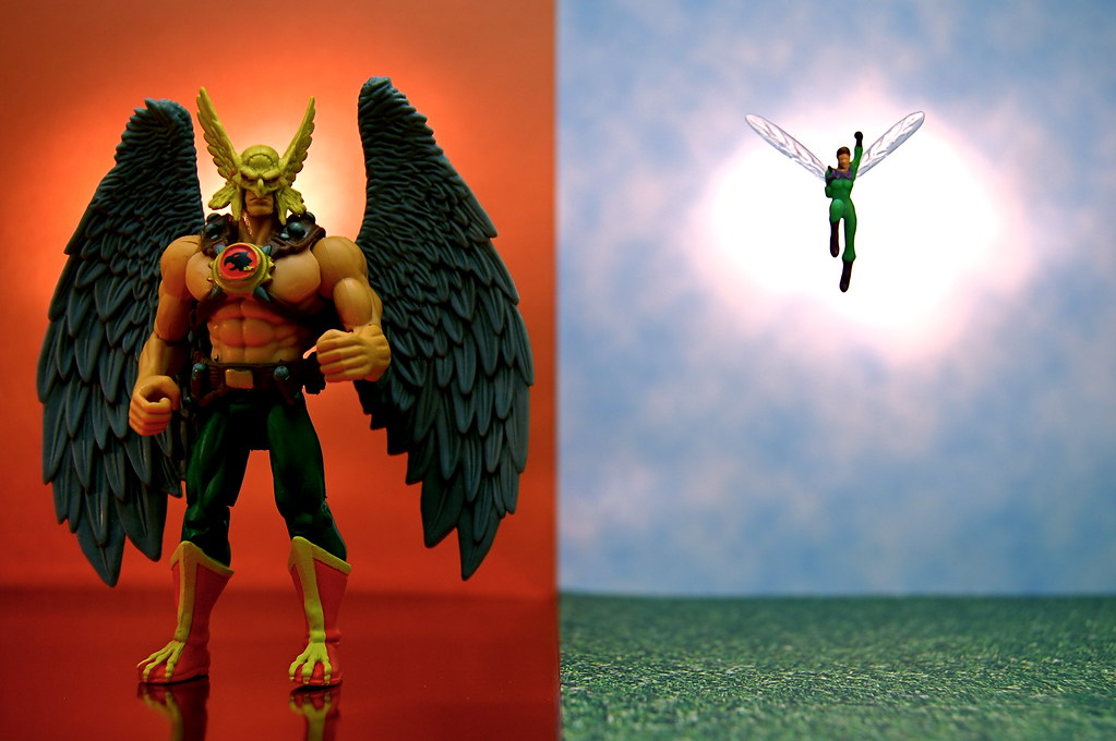 Hawkman vs. Wasp (346/365)