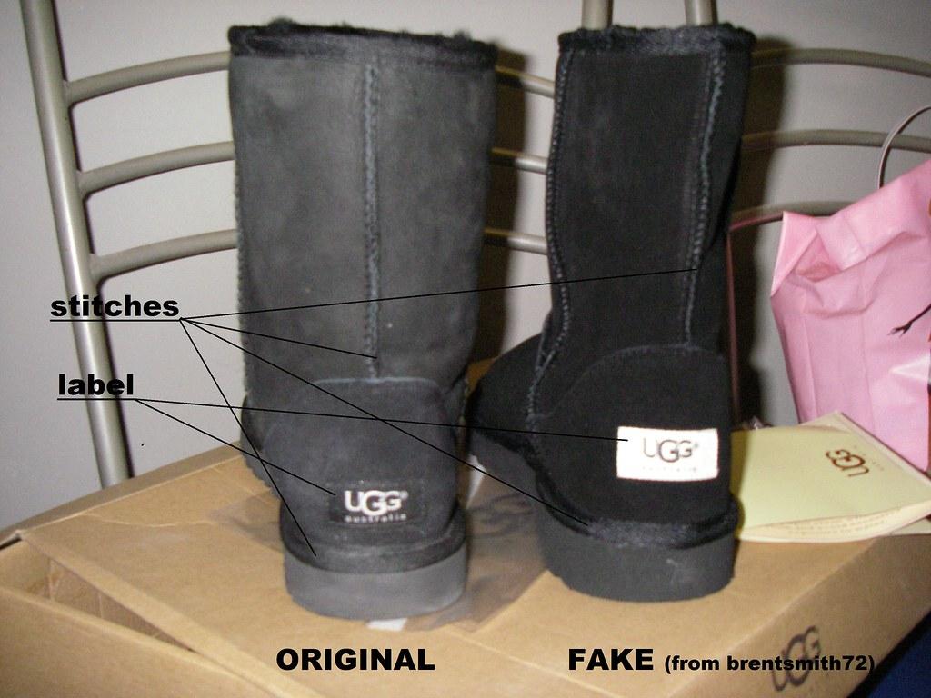 ugg fake