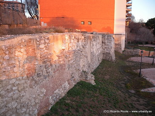 Muralla Arabe képe. madrid españa spain