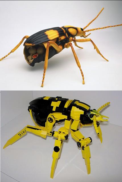 Lego Inspiration Retrospective 8 Bombardier Beetle