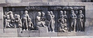 Relief from Borobudur