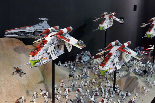 Battle of Geonosis - Republic Clone Army