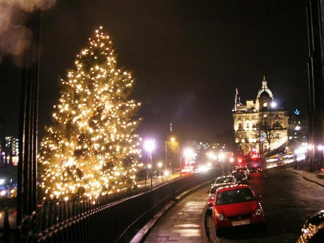 Christmas Tree Edinburgh Scotland Flickr Photo Sharing