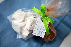 coconut(0.0), icing(0.0), wedding favors(1.0), sweetness(1.0), food(1.0),