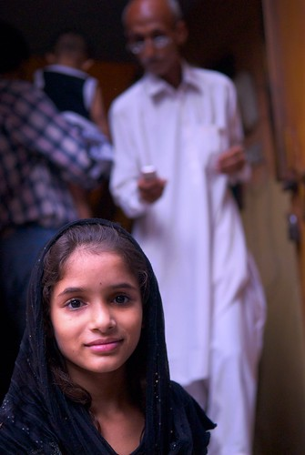 Young girl in Lahore