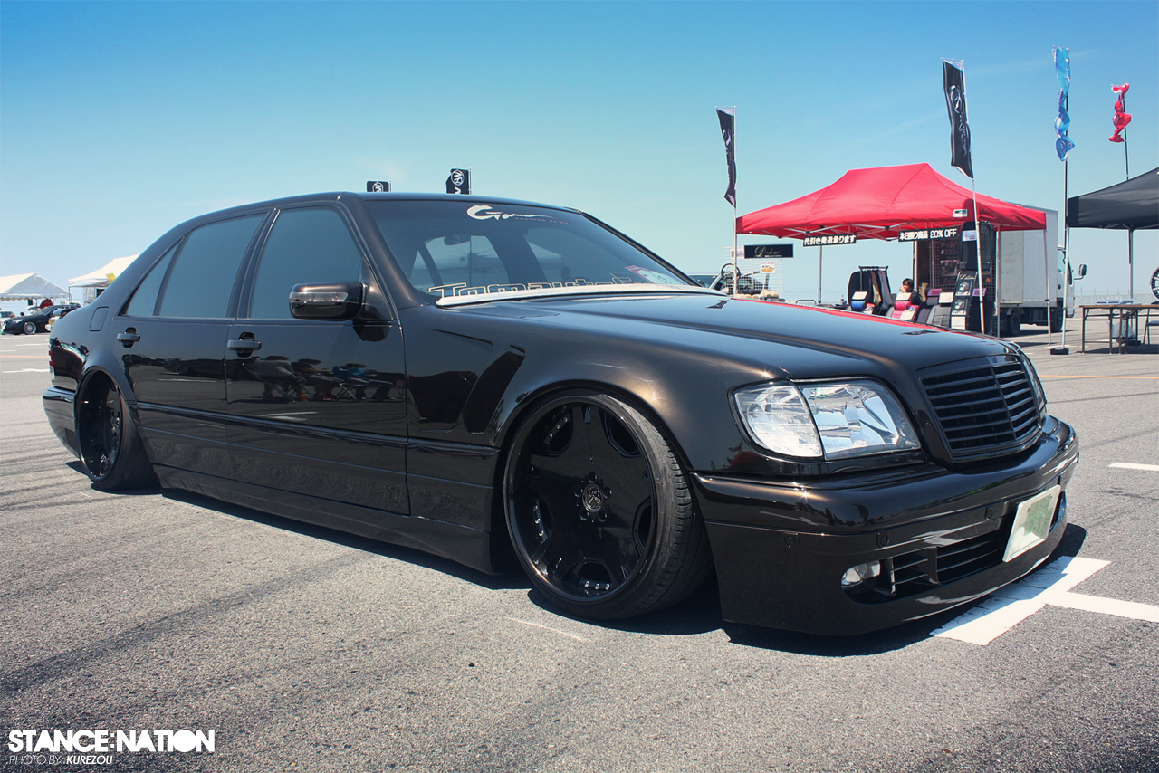 Boss w140 stancenation form function for Mercedes benz w140