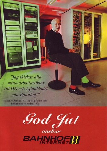Sverker Åström, Christmas 2001