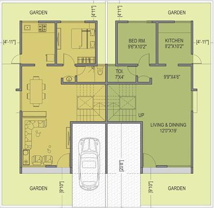 Twin Bungalow Elevation Joy Studio Design Gallery Best: twin bungalow plans