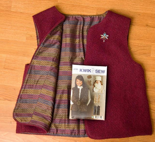 Felted Vest Patterns Free Patterns