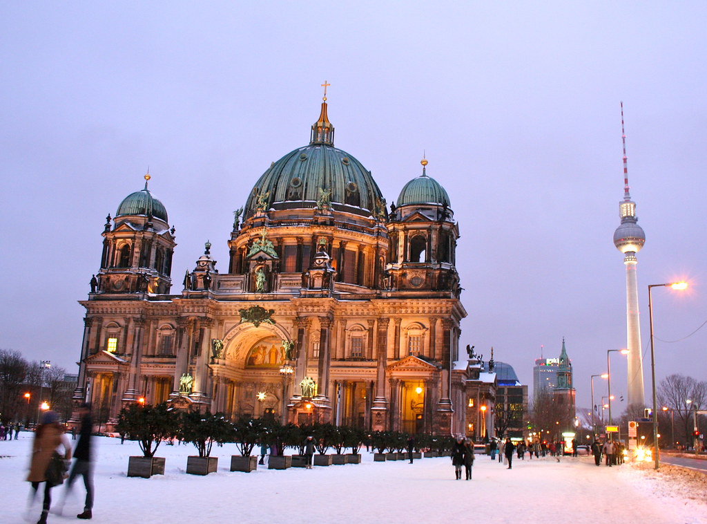 Berliner Dom on New Year Eve by Andrey Belenko, on Flickr