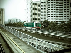 metropolitan area, vehicle, train, transport, skyscraper, rail transport, public transport, monorail, architecture, urban area, cityscape, rolling stock, overpass, track, rapid transit,