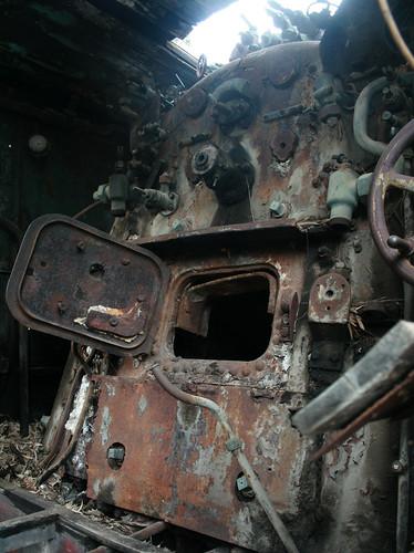 abandoned station train graffiti rust engine rusty rail railway trains greece vehicle locomotive myloi