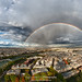 (Double) Rainbow over Paris by iamvanja