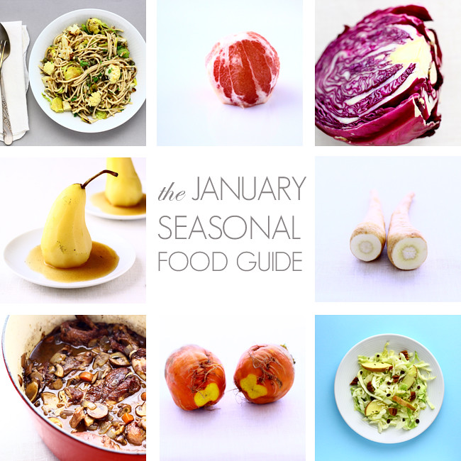 The January Guide to Seasonal Foods