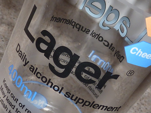 Lager: Daily alcohol supplement