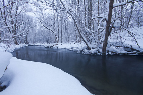 Skaneateles Creek in Winter
